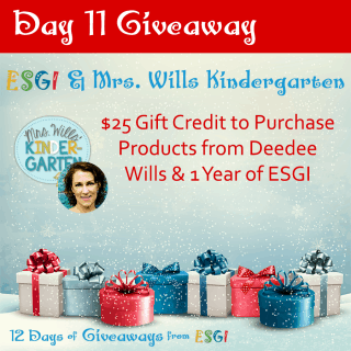 ESGI:  Sleigh Full of Prizes ~ Day 11