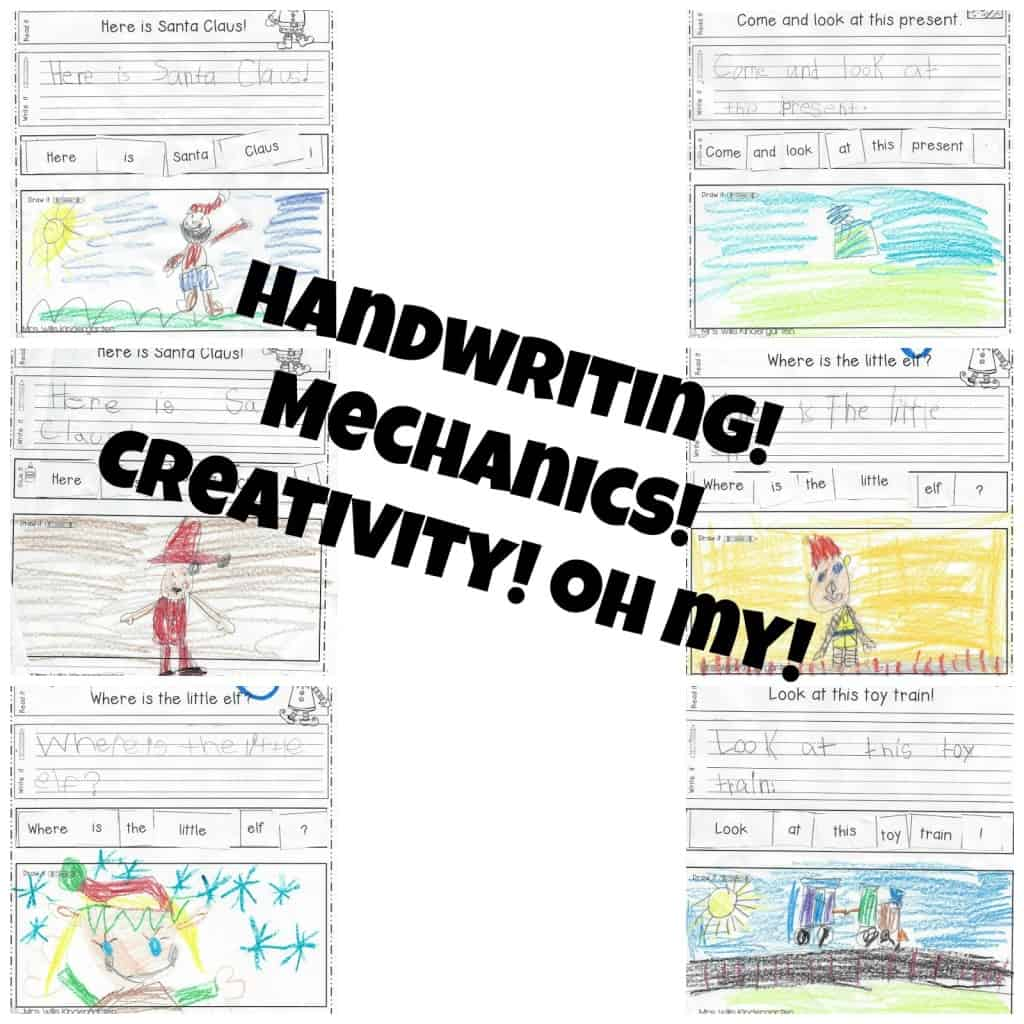 Looking for (simple!) ways to help your students work on their writing skills? Check out these kindergarten handwriting and sentence mechanics resources!