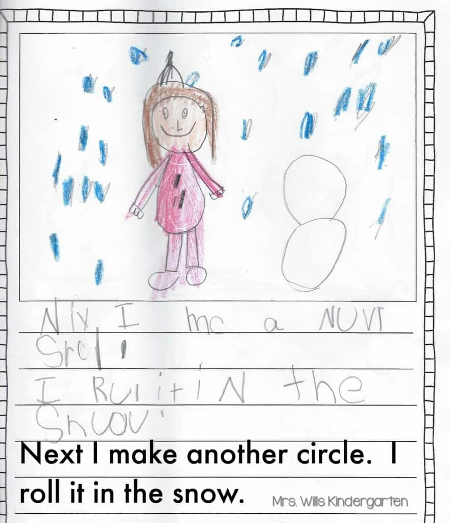 writing in kindergarten Last fall, this reading mama and i teamed up to share a series of simple first and second grade writing lessons we're back - and this time we're sharing ten preschool and kindergarten writing lessons.