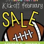 Kick off to February SALE!