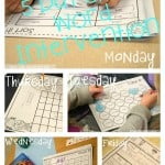 5 Day Plan for Targeted Sight Word Intervention in MINUTES! (plus a FREEBIE)