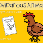 Peek at my Week-Oviparous Animals-FREE download