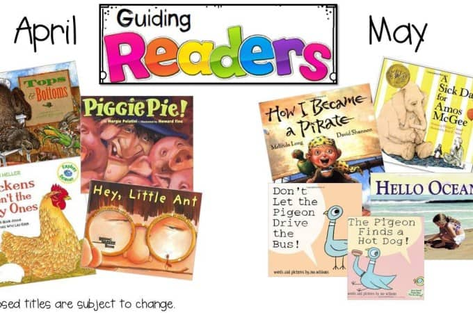 Guiding Readers April and May… Coming soon!!!