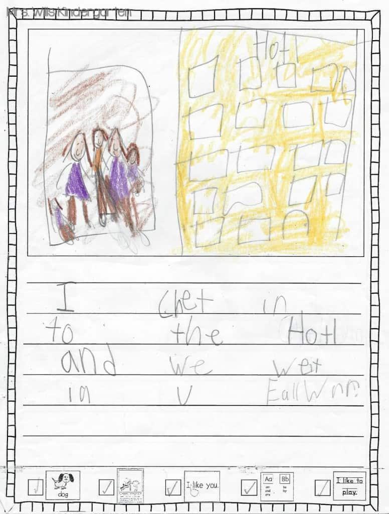 Writers Workshop... I love kid writing! 13