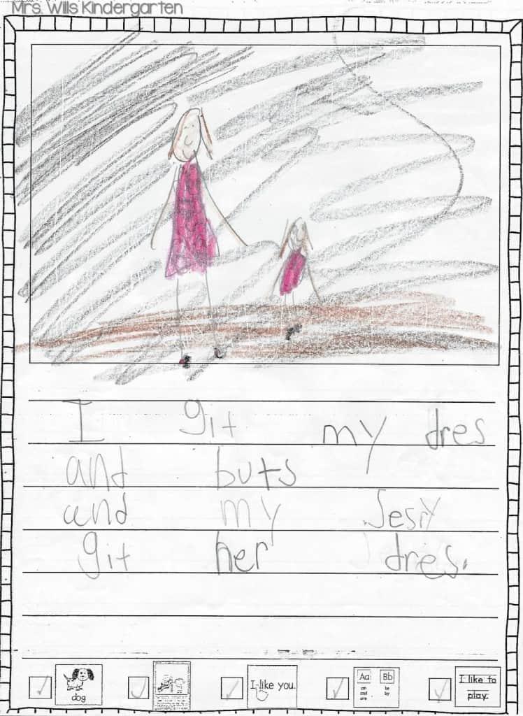 Writers Workshop... I love kid writing! 14