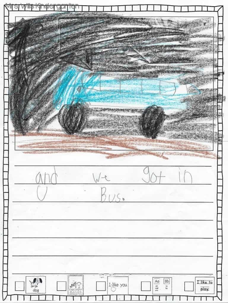 Writers Workshop... I love kid writing! 15