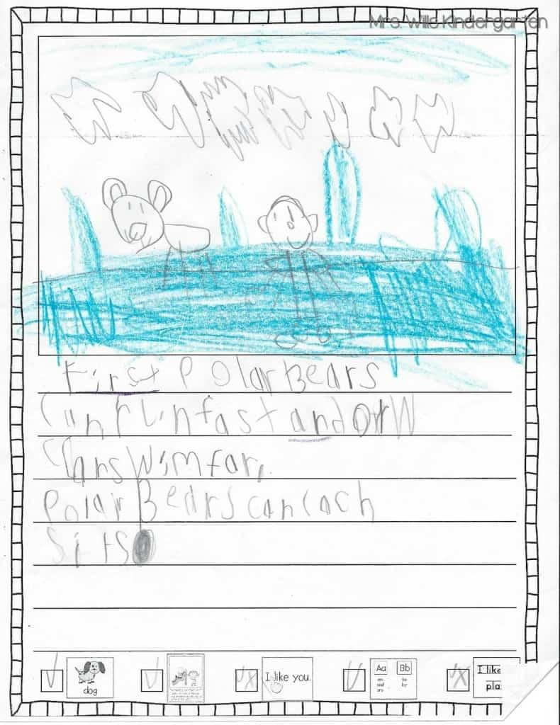 Writers Workshop... I love kid writing! 3