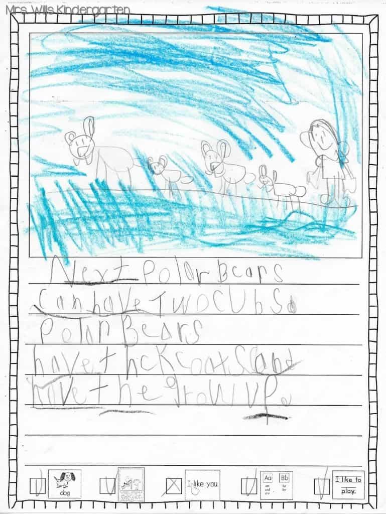 Writers Workshop... I love kid writing! 4