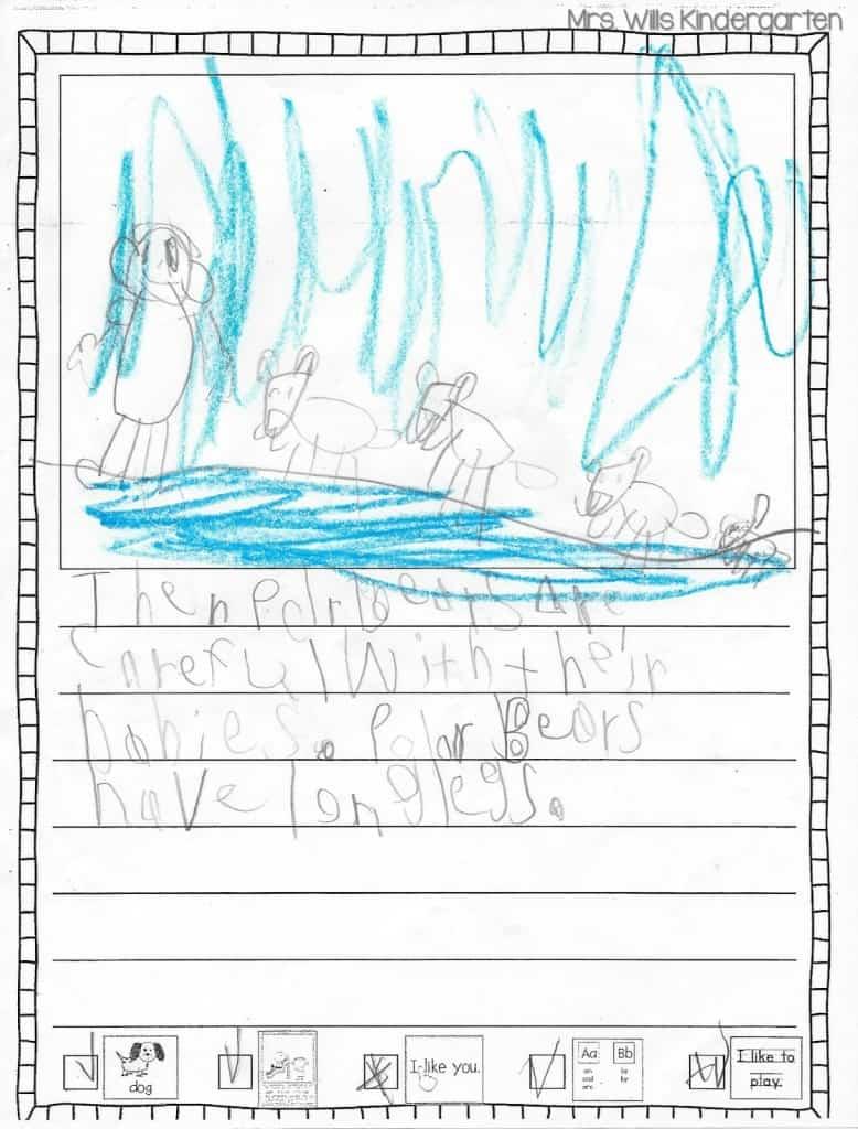 Writers Workshop... I love kid writing! 5