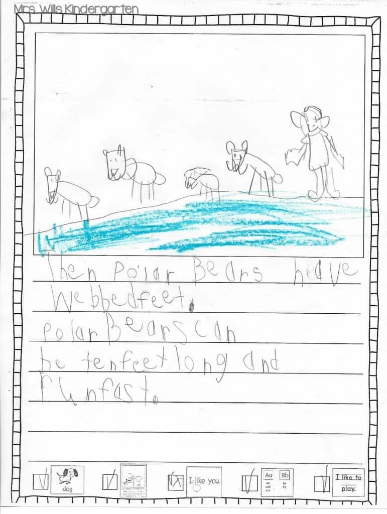 Writers Workshop... I love kid writing! 6