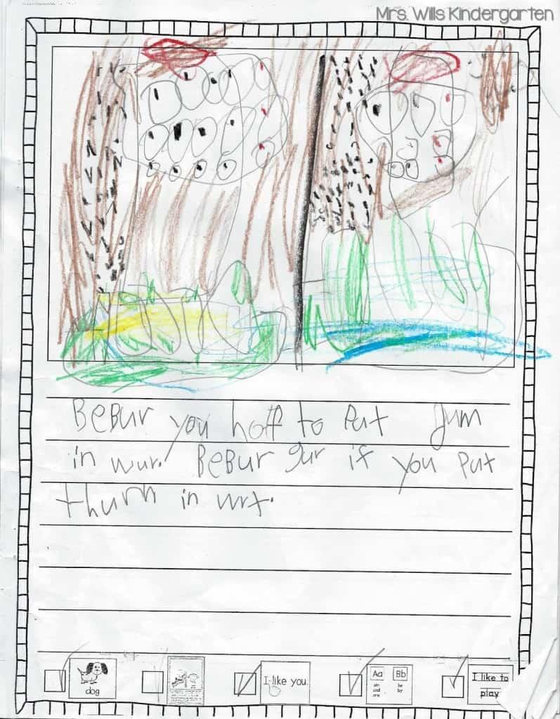Writers Workshop... I love kid writing! 8