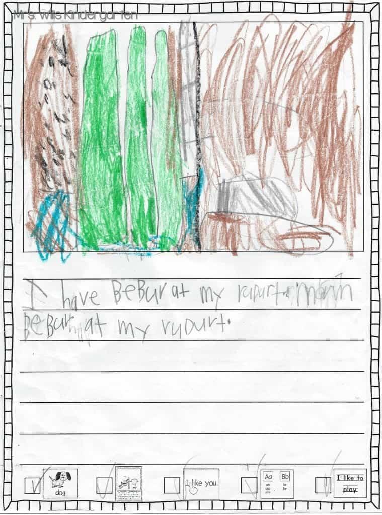 Writers Workshop... I love kid writing! 10