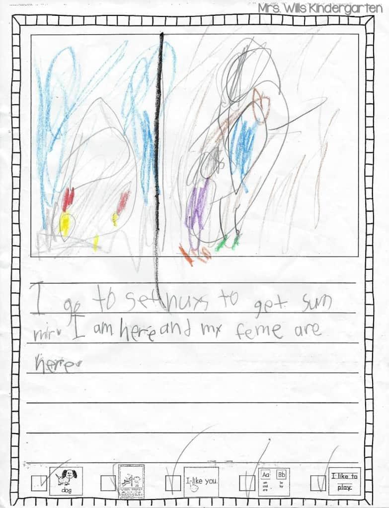 Writers Workshop... I love kid writing! 11