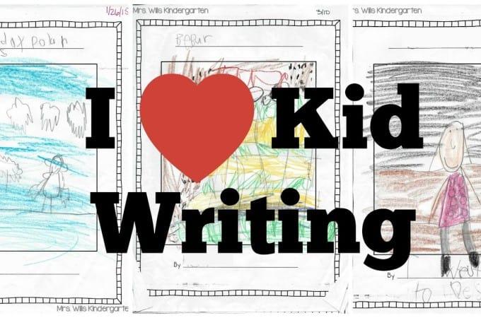 Writers Workshop… I love kid writing!