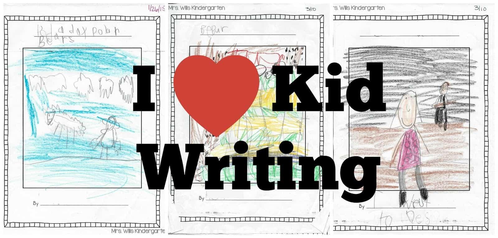 Writers Workshop... I love kid writing! 1