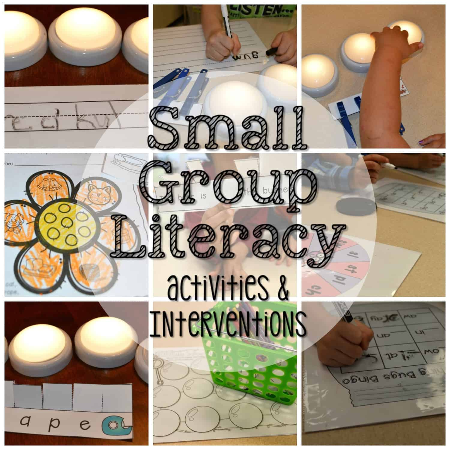 Small Group Activities and Interventions for April 1