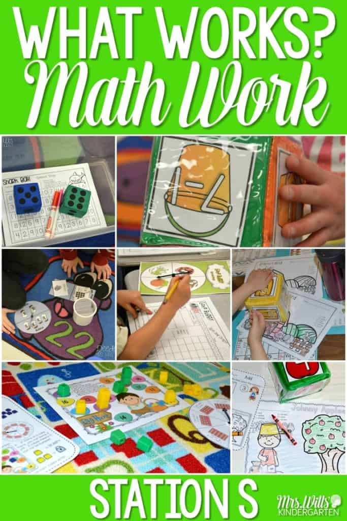 Looking for ways to improve your students' math skills? Check out these printable kindergarten math stations! Addition, subtraction, composing and decomposing numbers, measurement and more! Your students will love these math centers all year long!