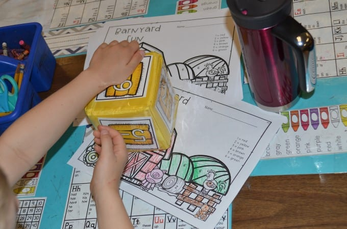 What Worked Last Year?   Math Stations (FREE download) 6