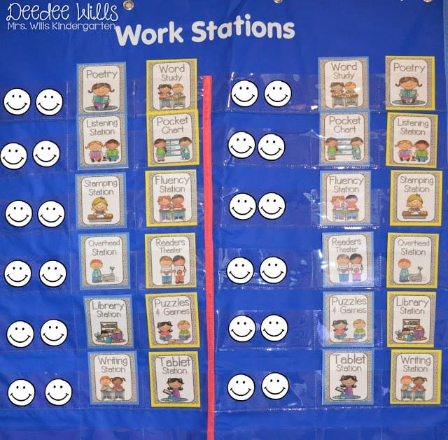 """What Worked Last Year?   Literacy Station """"I Can"""" Cards 1"""