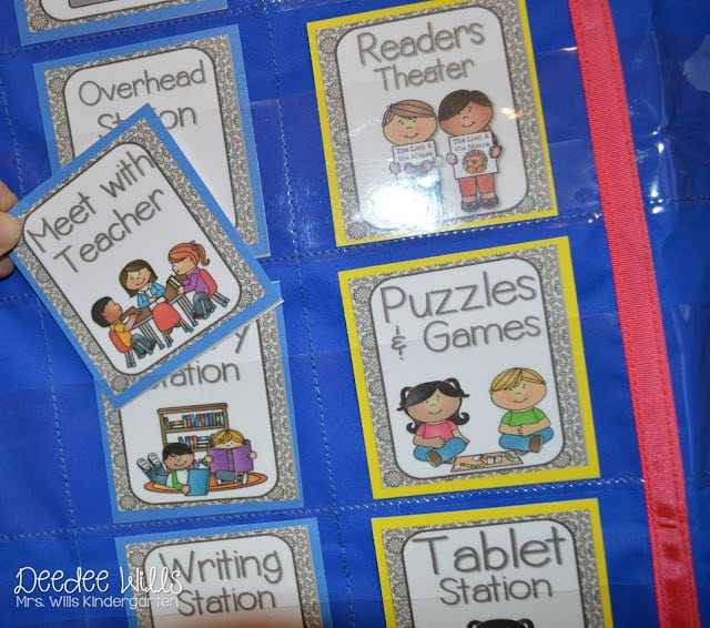 """What Worked Last Year? Literacy Station """"I Can"""" Cards 4"""