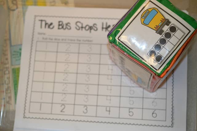 Looking for printable worksheets to improve your students' math and literacy skills? Check out these kindergarten differentiation cube activities! Great for centers or stations!