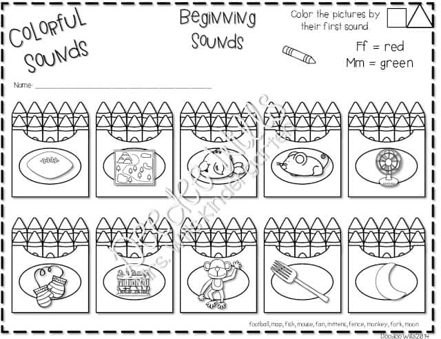 Are you short on time, but still want to give your students quality activities to work on? Check out these printable kindergarten no prep worksheets!