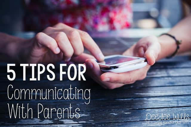 5 tips for communicating with parents