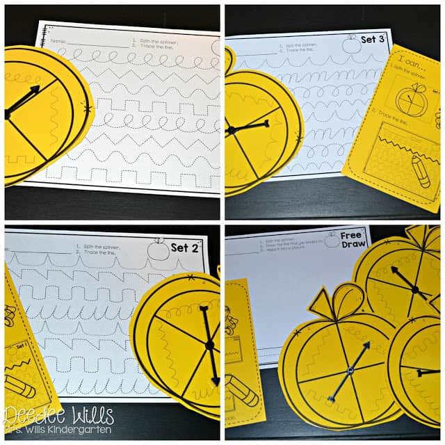Black ink only activities mean you don't use color ink! Math and literacy centers that are perfect for kindergarten. Letter ID, counting, and more. Great for your word work or Daily 5!