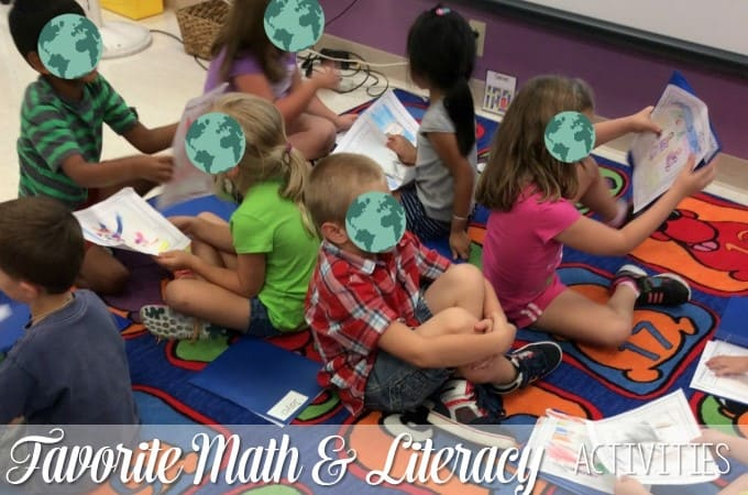 Favorite Math and Literacy Stations:  Peek at my Week
