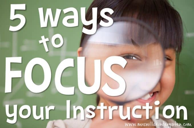 Student centered classroom! Are looking for some guidance in improving your teaching skills? Here is a list of 5 ways to focus your instruction!! Reading, Writing, Math, Assessment, and MORE!