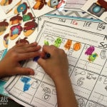 Kindergarten Math and Literacy Stations for December
