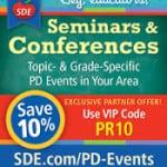 Conferences Galore!  Discount!