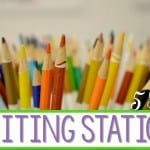 Kindergarten Writing Station:  5 Tips