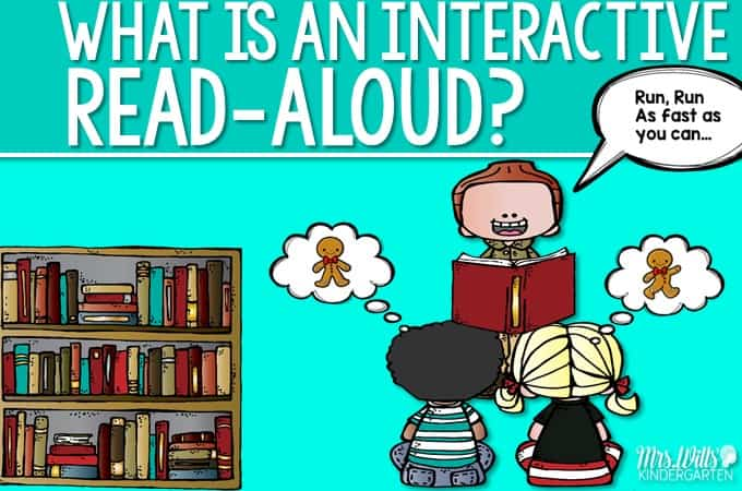 Interactive Read Aloud:  Webinar Follow Up!