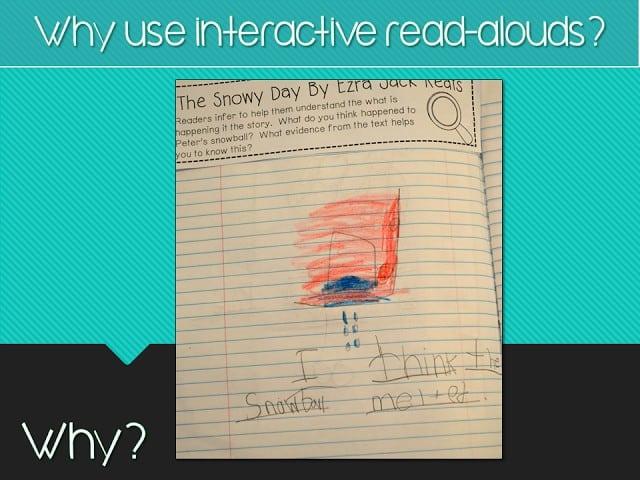 Interactive Read Aloud: Webinar Follow Up! 1