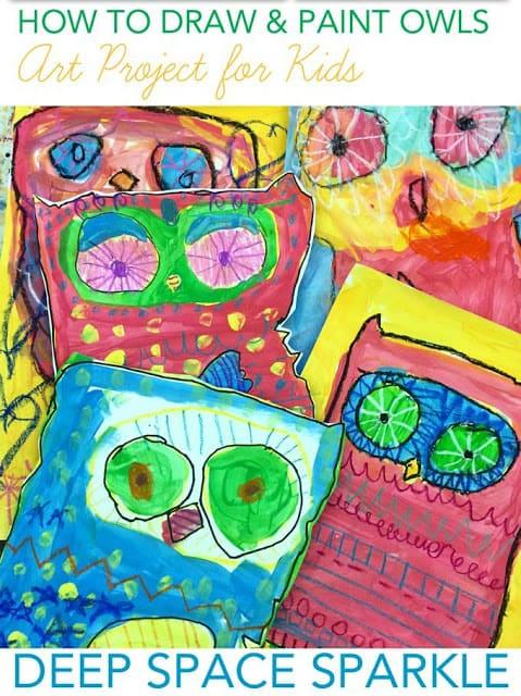 Owl Lesson Plans ~ Peek at my Week 5