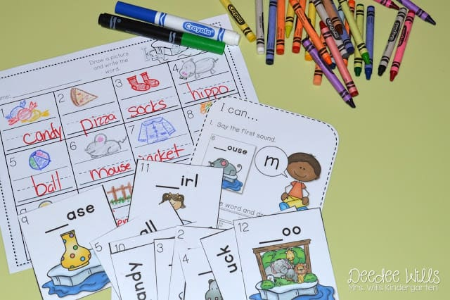 Independent Station Work in Kindergarten 4