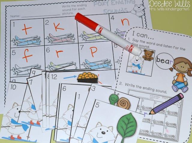 Independent Station Work in Kindergarten 9