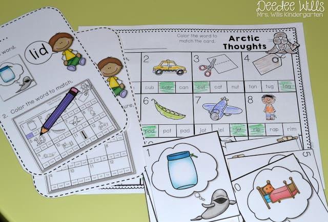 Independent Station Work in Kindergarten 10