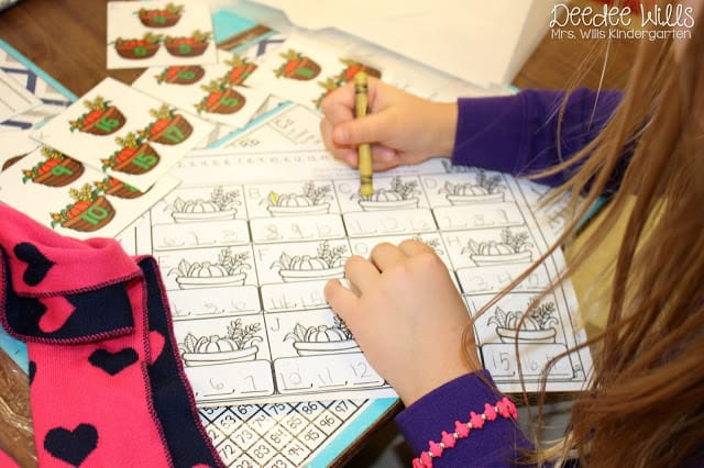 Independent Station Work in Kindergarten 2
