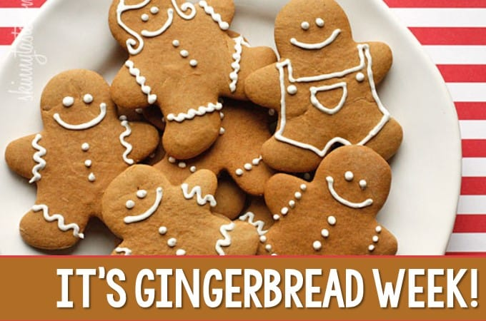 It's Gingerbread Week!