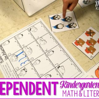Independent Station Work in Kindergarten