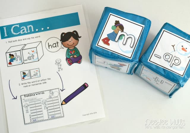 Check out these downloadable kindergarten learning games for math and literacy!