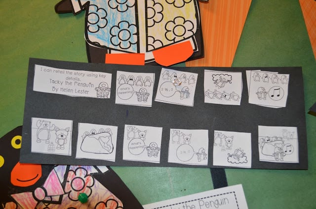 Retelling with Tacky the Penguin 4