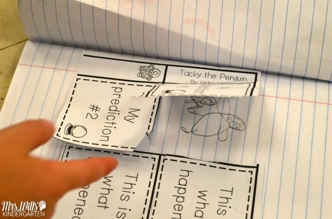 kindergarten penguin lesson plans featuring Tacky the Penguin. Students work on retelling the story while building comprehension strategies! Check out these kindergarten penguin lesson plans and pictures of my students going through this unit!