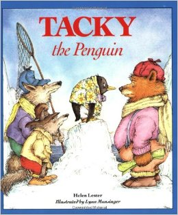 Retelling with Tacky the Penguin 1