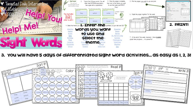 Sight Words: Dolch? Fry? or Mutt? (Free file) 6