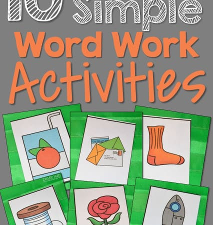 Powerfully Simple Word Work Activities