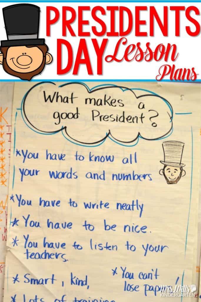 President's Day in kindergarten can be a bit meh, but just a little creativity can make it exciting! Read about how we did it!