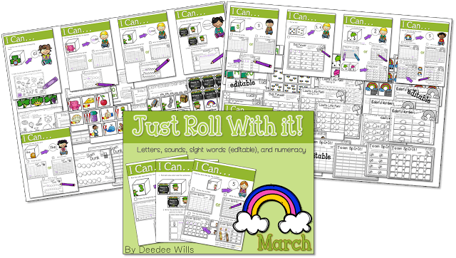 Looking Ahead to March!   With a FREE file preview 4